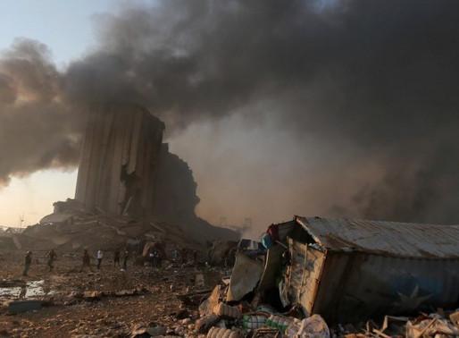 Beirute: mais de 100 mortes, 300 mil sem-teto e risco de desabastecimento