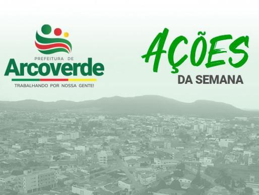 Resumo das ações da Prefeitura de Arcoverde durante a segunda semana de fevereiro de 2021.