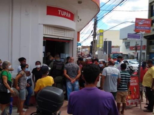 Idoso morre enquanto aguardava na fila por atendimento bancário em Serra Talhada