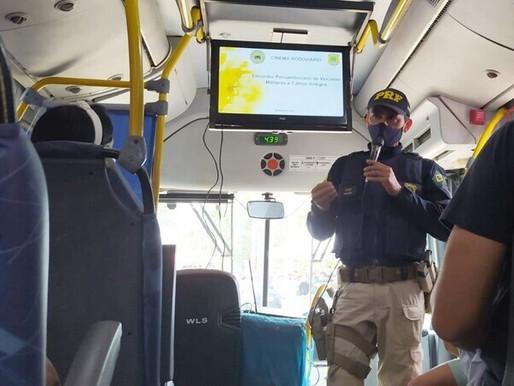 Polícia Rodoviária Federal intensifica ações de Educação para o Trânsito em Pernambuco