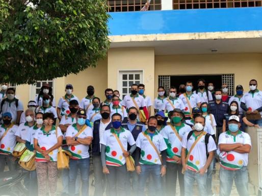 Saúde de Arcoverde distribui novos kits para Agentes de Endemias e coletes para Agentes de Vigilânci