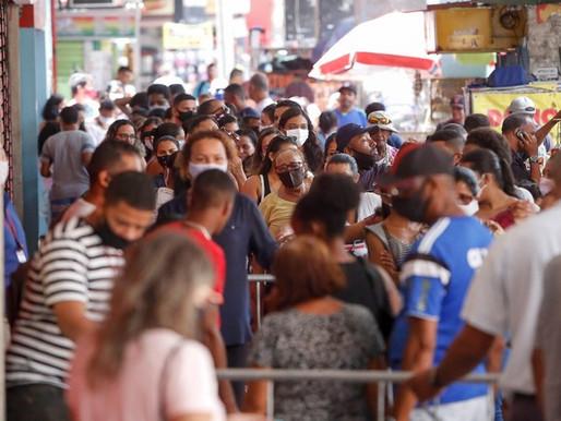 577 mil pernambucanos não praticaram nenhum isolamento social em outubro, diz IBGE
