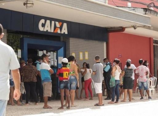 Caixa deposita auxílio de R$ 600 e libera saque de R$ 300; veja quem recebe