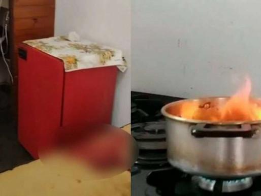 Homem mata 'amigo' que negou sexo e esconde pênis dentro de panela