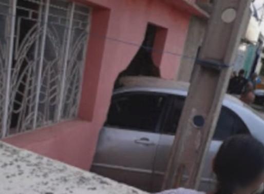 Homem perde controle de carro e invade casa em Belo Jardim