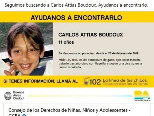 Caso Carlinhos: mãe afirma que filho apareceu em delegacia na Argentina e faz planos para retorno