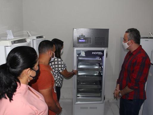 Prefeitura de Arcoverde recebe primeira remessa de insumos para vacinação contra a Covid-19
