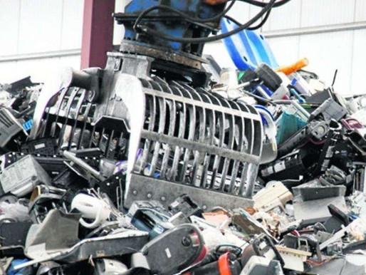 Brasil recicla menos de 3% do lixo eletrônico