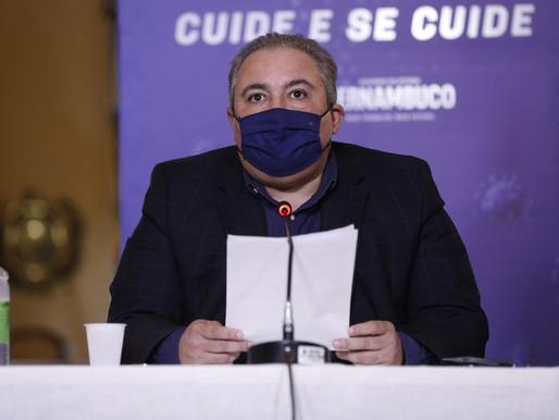 Maio será mês difícil para Covid-19 em PE, diz secretário de Saúde