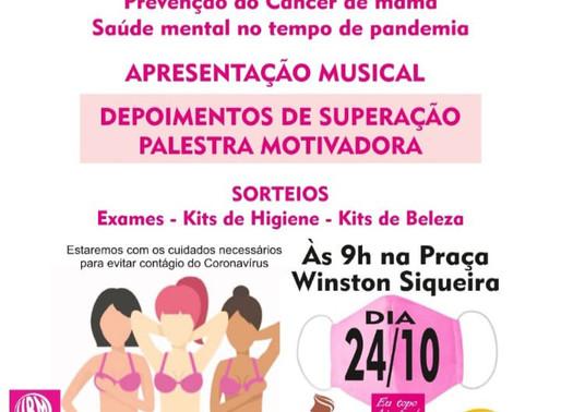 Coordenadoria da Mulher de Arcoverde realiza programação especial do Outubro Rosa neste sábado (24)