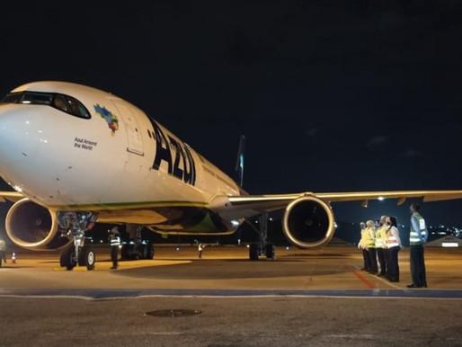 Avião que vai trazer 2 milhões de doses de vacina da Índia chega ao Recife