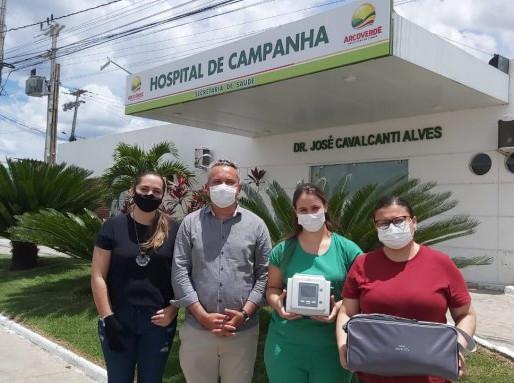 Prefeitura de Arcoverde faz entrega de novos equipamentos para Hospital de Campanha e PNI Municipal