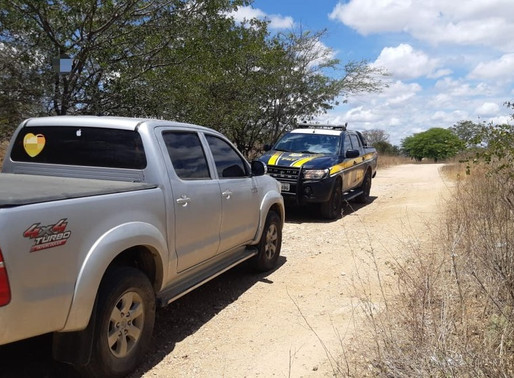 Suspeitos de roubar caminhonete de luxo são apreendidos com arma em Custódia