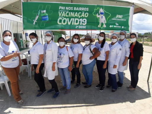 UBSFs da Cohab II receberam o 'PNI nos Bairros' para vacinar idosos contra Covid-19