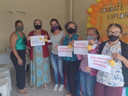 Casa 60+ Itinerante encerra atividades da Semana de Combate ao Abuso e à Exploração Sexual de Crianç