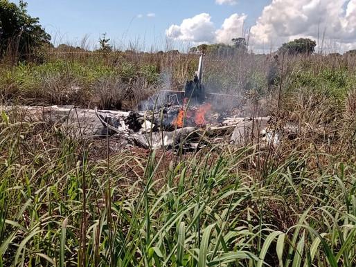 Avião com presidente e jogadores do Palmas Futebol e Regatas cai logo após decolar; 6 pessoas morrer