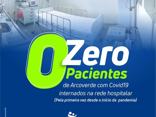 Pela primeira vez desde a pandemia, Arcoverde não tem pacientes com Covid-19 internados na rede hosp