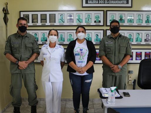 Saúde de Arcoverde dá início à imunização de policiais militares contra Covid-19
