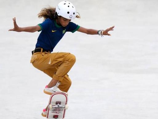 Rayssa Leal, a Fadinha, faz história e se torna atleta mais jovem do Brasil a subir em pódio das Oli