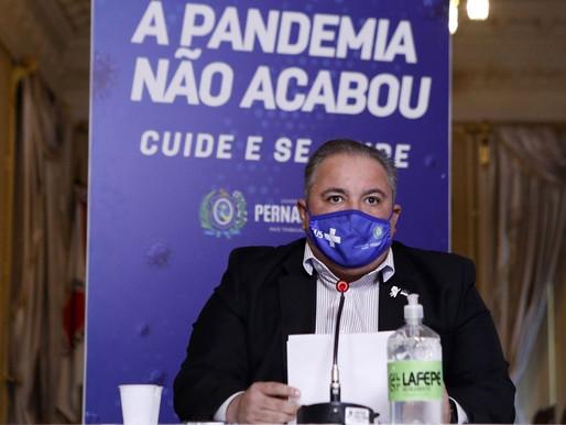 Pernambuco anuncia compra de 1,4 milhão de testes para frear variante delta