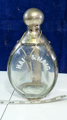 Glass And Silver Decanter