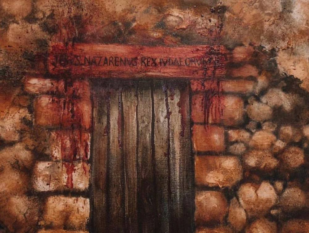 Painting - The Passover Lamb