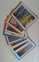 greetingcards,judaica,menorah,paintings,capetown,feasts