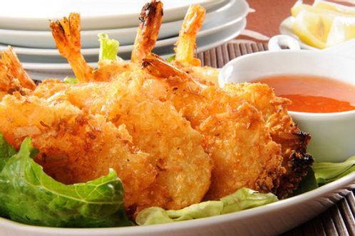 Coconut Shrimp with Sauce - 16 serv