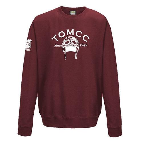 TOMCC Helmet Sweatshirt. £22 + P&P