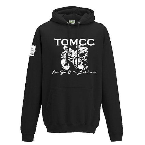 TOMCC Lockdown Hoodie. £25 + P&P