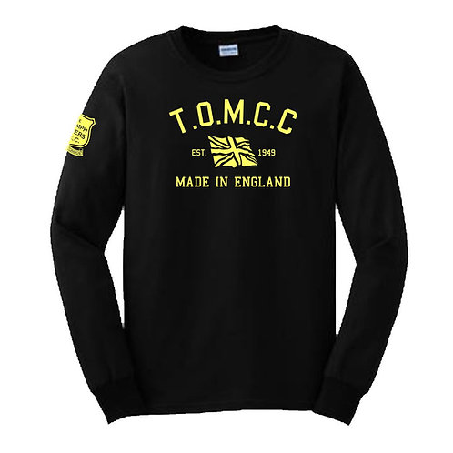 TOMCC Printed Retro Long Sleeved T-shirt. £18 + P&P