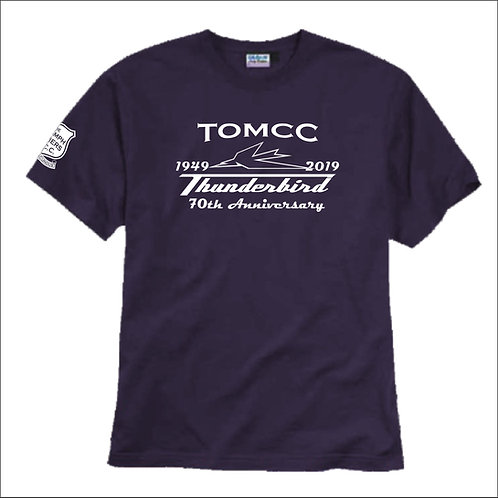TOMCC Thunderbird 70th T-shirt. £15 + P&P