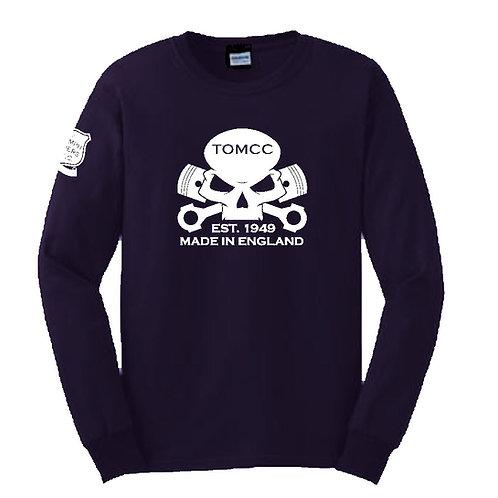 TOMCC Skull Long Sleeved T-shirt. £18 + P&P