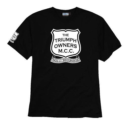 TOMCC Printed Full Front T-shirt. £15 + P&P