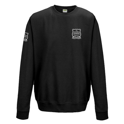 TOMCC Embroidered Left Chest Sweatshirt. £30 + P&P