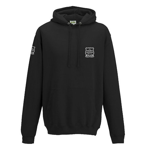 TOMCC Embroidered Left Chest Hoodie. £35 + P&P