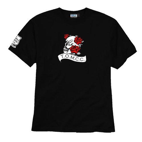TOMCC Ladies Skull UNISEX T-shirt. £15 + P&P