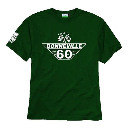 TOMCC Bonneville 60th T-shirt. £15 plus P&P