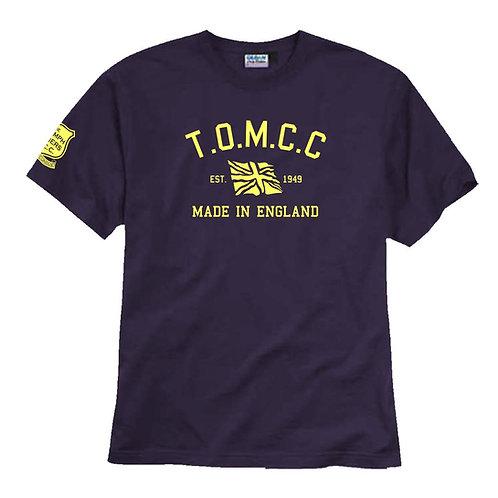 TOMCC Retro T-shirt. £15 + P&P