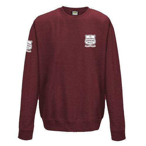 TOMCC Printed Left Chest Sweatshirt. £22 + P&P