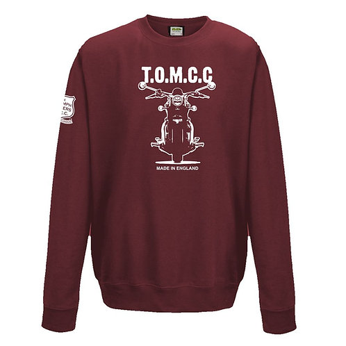 TOMCC Made in England Sweatshirt. £22 + P&P