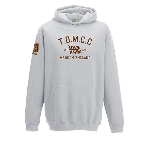 TOMCC Retro Hoodie. £25 + P&P