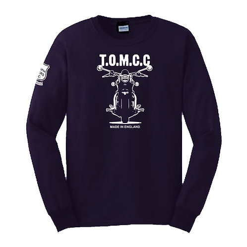 TOMCC Made in England Long Sleeved T-shirt. £18 + P&P