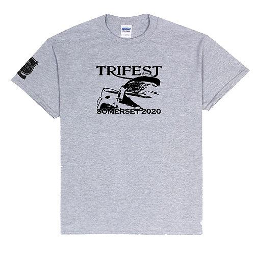 TOMCC TRIFEST Somerset 2020 T-shirt. £15 + P&P