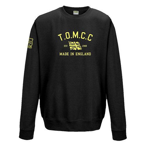 TOMCC Retro Sweatshirt. £22 + P&P