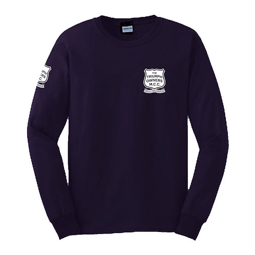 TOMCC Printed Left Chest Long Sleeved T-shirt. £18 + P&P