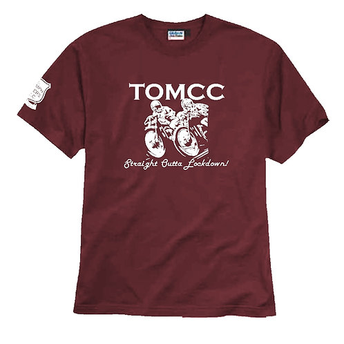 TOMCC Lockdown T-shirt. £15 + P&P