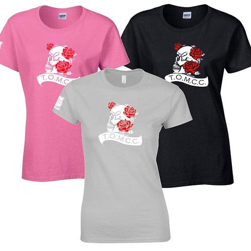 TOMCC Ladies Skull Lady Fit T-shirt. £15 + P&P