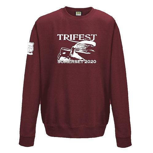 TOMCC Trifest Somerset 2020 Sweatshirt. £22 + P&P