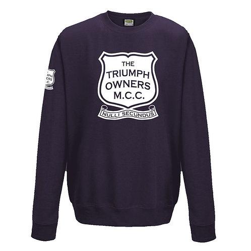 TOMCC Printed Full Front Sweatshirt. £22 + P&P